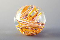 Weston Glass paperweight