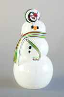 Weston Glass snowman